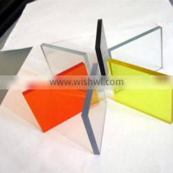 fashionable custom different colors of Perspex plate in Guangzhou OEM factory