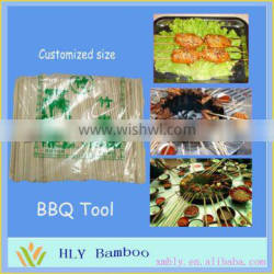 Bamboo thick bamboo decor sticks fence for BBQ use