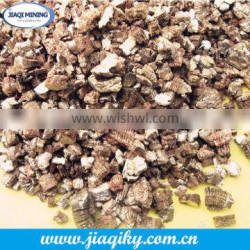 Exfoliated vermiculite used for animal feed