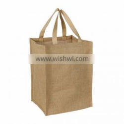 Excellent quality low price jute customized reusable shopping bags