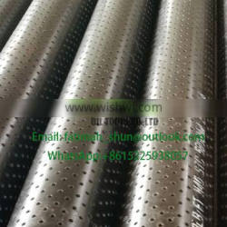 API 5CT perforated casing pipe and tubing with stc connection