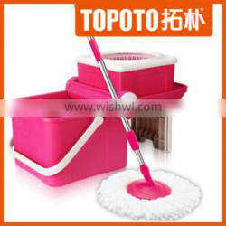 Cleaning product 360 rotating twist mop with spin bucket