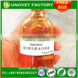 Multivitamin B injection for pets,veterinary drugs,GMP pharmaceutical manufacturer