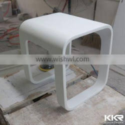 Resin acrylic solid surface modern stool