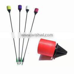 China archery battle Safe Foam tip aorrw and inflatable bunkers paintball for sell