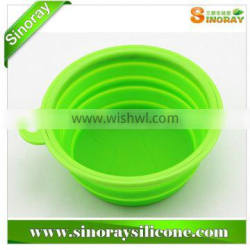 Wholesale China foldable silicone pet feeding bowl