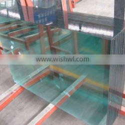 China hot sale heat strengthened glass price with CE/ISO/SGS/CCC