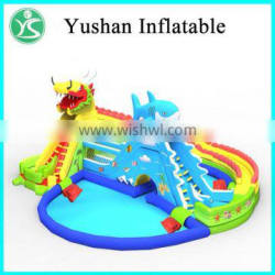 2016 hot summer used inflatable water slide for sale