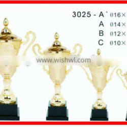 GOLD PLATED TROPHY CUPS