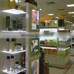 best selling products Swiss acrylic display shelf pnale led rack display panel