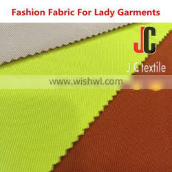 JC B2878 shaoxing knit fabric twill polyester fabric price per meter