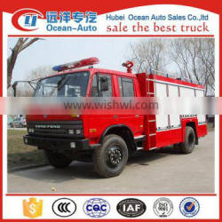 Dongfeng new rescue vehicle, water tank fire truck from original manufacture
