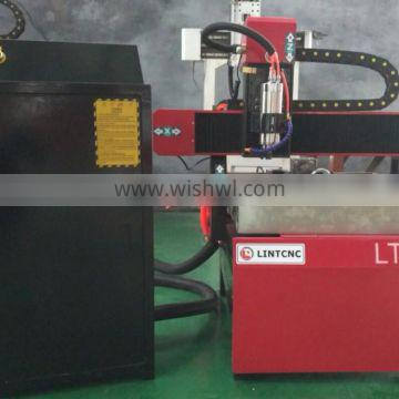Jinan hobby home use low csost 6060 cnc router machine for wood aluminum MDF small cnc router engraving machine