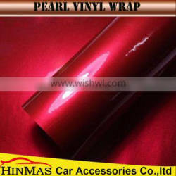 Car Decoration Accessories polymeric factory direct sell glossy candy colored car body vinyl wrap