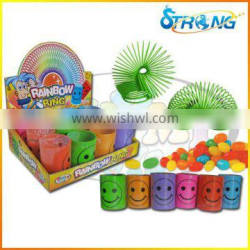 2016 New Rainbow Ring Toy Candy