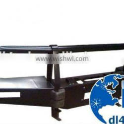 4WD rolled steel front bumper for toyota hilux vigo