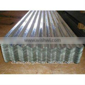 zinc-coated galvalume corrugated roofing sheet