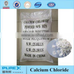 calcium chloride 95% pearl form 1-3mm and 2-5mm size