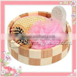 Natural Wooden Tube Bath And Body Care Product