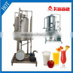Full automatic Beverage Degasser manufactured in Wuxi Kaae