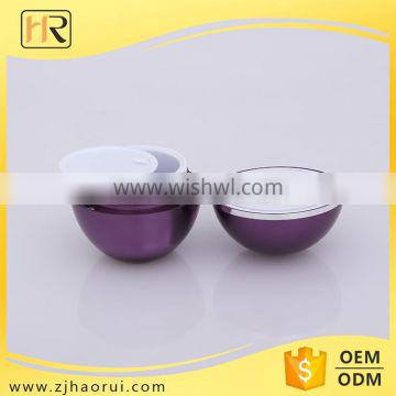 Top Quality cosmetic containers wholesale Acrylic Jar Beautiful green plastic containers