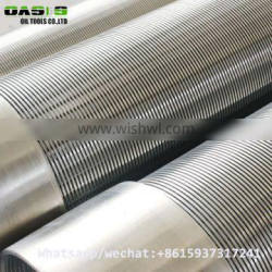 SS 316L wedge wire water well screen