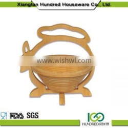 wholesale China trade bamboo fruit basket for home