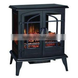 3 sides viewing electric fireplace heaters electric