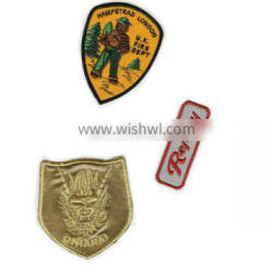 Hand made embroidery patches badges