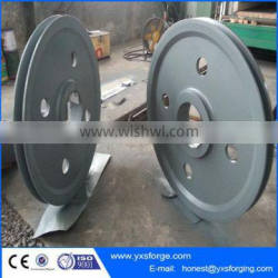 Machinery crane equipment forged pulley