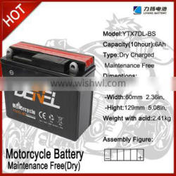 MOTORCYCLE BATTERY FOR SCOOTER