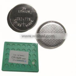 cr17335 lithium battery/3v button battery cr2477t/cr2025 battery for shenzhen suyu battery