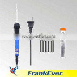 FRANKEVER 60W 110V Adjustable Temperature Welding Soldering Iron with 5pcs Different Tips and additional Solder Tube