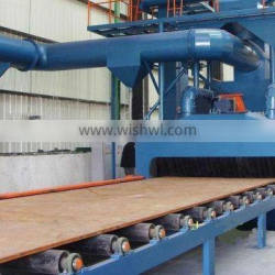 Steel Plate Painting Preparation Surface Cleaning Sand Blasting Machine