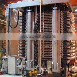 High Pressure Hydraulic Automatic Vertical Press Filter with High Capacity