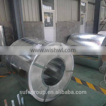 High precision hot dipped zinc coated steel coil