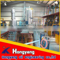 Exclusive technology easy operation all impurities removing rapeseed oil refining plant