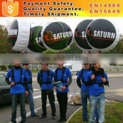 High quality inflatable backpack balloon for sale