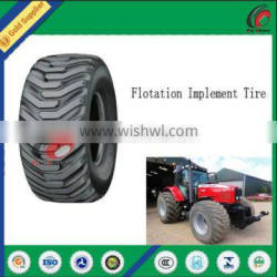 High quality agricultural flotation tyre 600/50-22.5 tubeless implement tyre