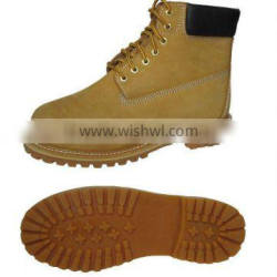 safety leather mlitary boot 2016