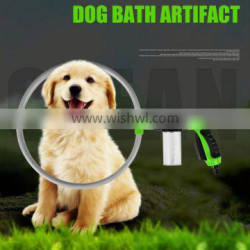 Newest Design 360 Degree Spray Nozzle Cleaning Tool Pet Accessories ABS dog washer 360