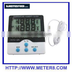 HTC-7 Temperature and humidity meter clock