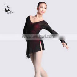 115120002 Pull on Mesh Dance Tops