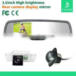 """3.5"""" Car Rear View Mirror Monitor with Compass,Temperature"""