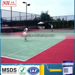 High quality outdoor rubber playground paint