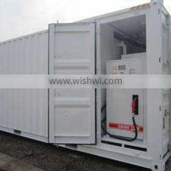 Mobile diesel container station, skid-mounted filling station, customized simple fuel filling station