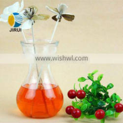 Cheap glass flower vases painting designs wholesale