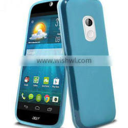 light blue tpu case for Acer Liquid Z200 case with high quality factory price