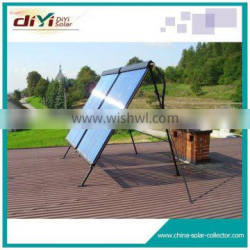 2015 Fashionable doule wings design solar collector/solar water heater