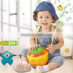 CHILDS KIDS ELECTRIC TOY DRUM WITH MUSICAL INSTRUMENT BRACES/CUSTOM YOUR OWN DESIGN LIGHT MUSIC & SOUND TABOUR CHINA FACTORY